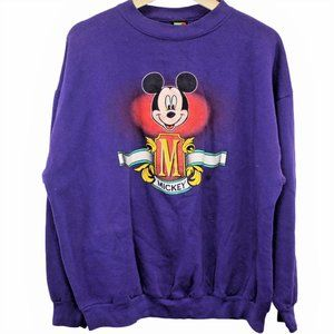 Q54 Vintage Mickey Mouse Unlimited Disney Crewneck